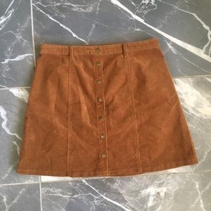 Forever 21 corduroy skirt size large